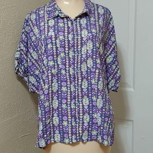 4/$10- Lularoe Button Down Shirt